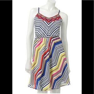 NWOT Lauren Conrad beautiful zigzag sundress